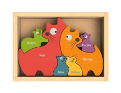 Cat Family Puzzle Educational Children's Puzzles