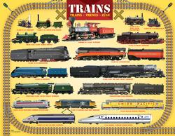 Trains Educational Miniature