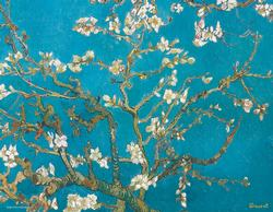 Almond Tree Branches in Bloom (Mini) Mother's Day Miniature