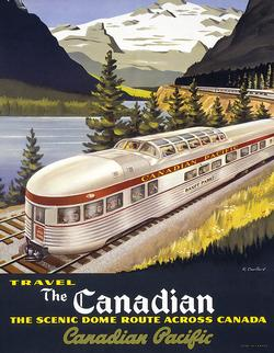The Canadian (Mini) Trains Miniature