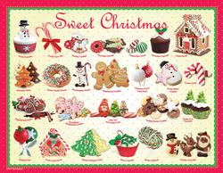 Sweet Christmas (Mini) Food and Drink Miniature Puzzle