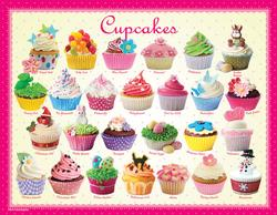 Cupcakes (Mini) Pattern / Assortment Miniature Puzzle