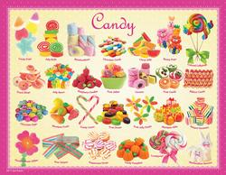 Candy (Mini) Pattern / Assortment Miniature Puzzle