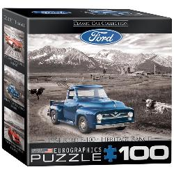 1954 Ford F-100 - Heritage Ranch (Mini) Nostalgic / Retro Miniature Puzzle