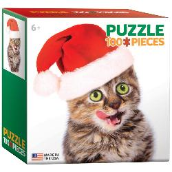 Holiday Kitten (Mini) Kittens Miniature Puzzle