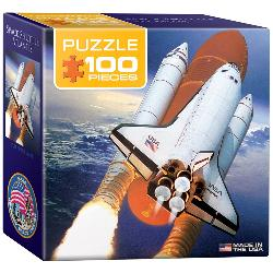 Space Shuttle Atlantis (Mini) Travel Miniature Puzzle