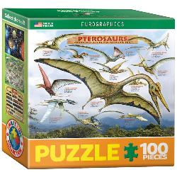Pterosaurs (Mini) Pattern / Assortment Miniature Puzzle