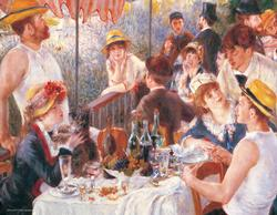 The Luncheon by Renoir (Mini) Impressionism Miniature