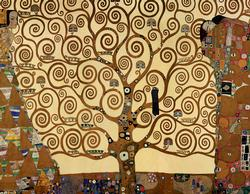 Tree of Life (Mini) Contemporary & Modern Art Miniature Puzzle