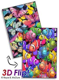 Sky & Sea Fish Lenticular Puzzle