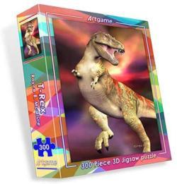 T-Rex Dinosaurs Lenticular Puzzle