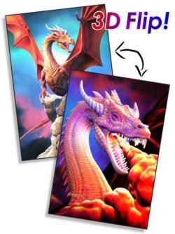 Dragons Dragons Lenticular Puzzle