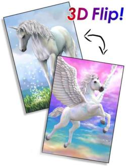 Pegasus and Unicorn Unicorns Lenticular Puzzle