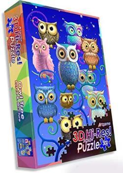 Owl Tree Owl Lenticular Puzzle