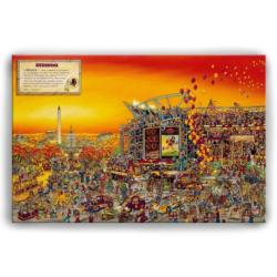 Washington Redskins Look & Laugh Puzzle