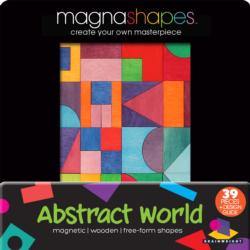 Abstract World (Magna Shapes) Graphics / Illustration Wooden Jigsaw Puzzle