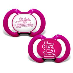 St. Louis Cardinals Pacifier 2-Pack - Pink St. Louis Cardinals