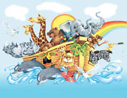 Noah & the Ark Other Animals Children's Puzzles