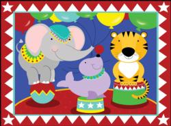 Birthday Circus Tigers Jigsaw Puzzle
