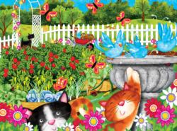 Garden Play Time Garden Jigsaw Puzzle