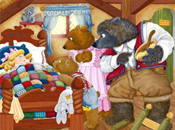 The Three Bears Bears Children's Puzzles