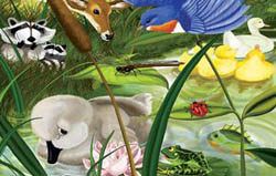 The Ugly Duckling Wildlife Children's Puzzles