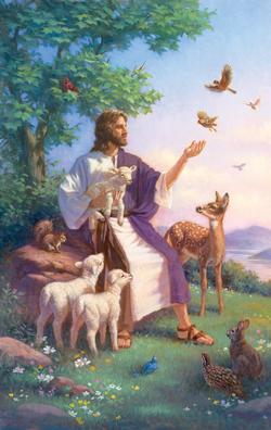 Come Unto Me Animals Jigsaw Puzzle