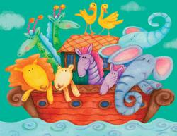Animal Ark Cartoons Large Piece