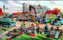 Country Yard Sale Nostalgic / Retro Jigsaw Puzzle