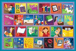 Reading Alphabet Educational Jigsaw Puzzle