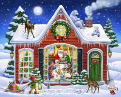 Christmas Feast Christmas Jigsaw Puzzle