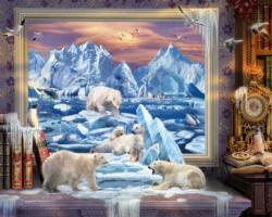 Artic Coming to Life - Scratch and Dent Animals Jigsaw Puzzle
