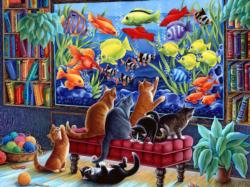 Kittens Fishing Fish Jigsaw Puzzle