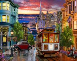 San Francisco Trolley San Francisco Jigsaw Puzzle