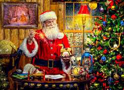 A Toy from Santa Jigsaw Puzzle Christmas Jigsaw Puzzle