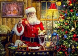 A Toy from Santa Christmas Jigsaw Puzzle