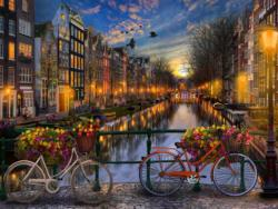 Amsterdam Aglow Jigsaw Puzzle - Scratch and Dent Amsterdam Jigsaw Puzzle