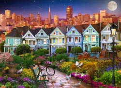 Painted Ladies of San Francisco San Francisco Jigsaw Puzzle
