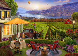 Wine Country Jigsaw Puzzle Food and Drink Jigsaw Puzzle