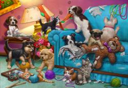 Paws Gone Wild Animals Children's Puzzles