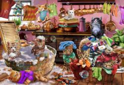 Kittens in the Kitchen Cats Children's Puzzles