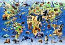 Endangered Species Animals Children's Puzzles