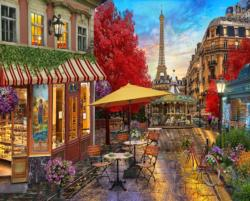 Evening in Paris Eiffel Tower Jigsaw Puzzle