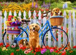 Pedal Pups Dogs Jigsaw Puzzle
