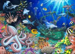 Sunken Treasure Fish Jigsaw Puzzle