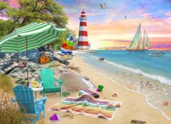 Seaside Beach Beach Jigsaw Puzzle