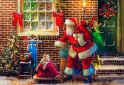 Special Delivery Christmas Jigsaw Puzzle