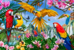 Tropical Birds Birds Jigsaw Puzzle
