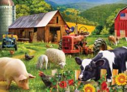 Farm Friends Farm Animals Jigsaw Puzzle