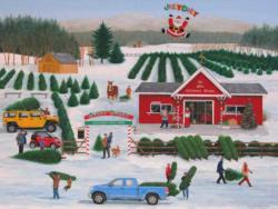 It's a Jolly Dolly Christmas Christmas Jigsaw Puzzle